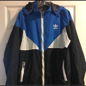 Men adidas windbreaker jacket